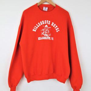 Vintage Hillsgrove Hotel PA Hunting Sweatshirt